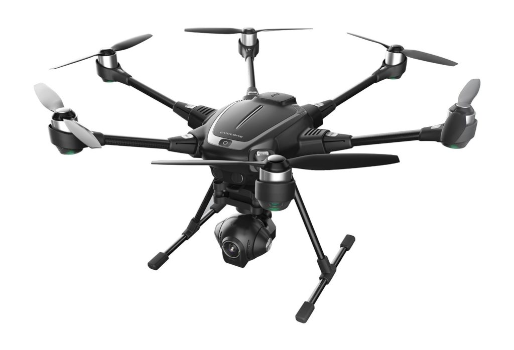 the yuneec typhoon H hexacopter