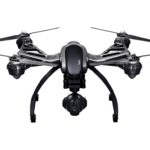 the yuneec Q500+ drone, in black