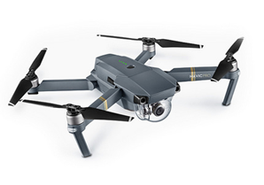 the DJI Mavic Pro quadcopter