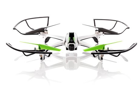 a front view of the sky viper gps streaming drone