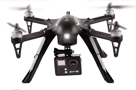 a small pic of the Contixo f17+ gopro drone